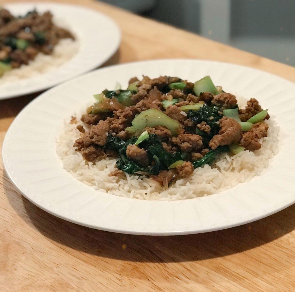HelloFresh Pork and Thai Basil Stir-Fry